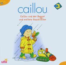 CAILLOU 3 CD KINDERHÖRSPIEL NEU