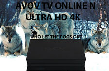 Avov TV Online N - Ultra HD 4K IPTV - INNOVATION AT ITS FINEST- destroys Mag 254