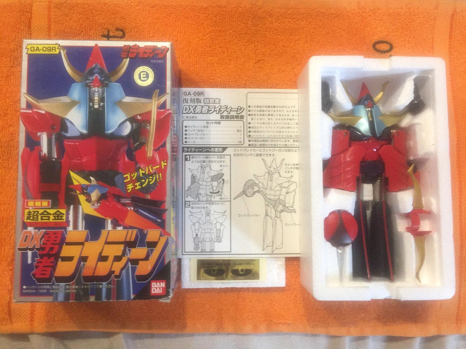 Raideen Bandai GA-09R Robot Chogokin 1999 diecast modello come da anime japan
