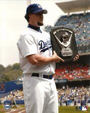 ERIC GAGNE 8x10 MLB PHOTO Cy Young Award @ LA Dodger Stadium LOS ANGELES DODGERS