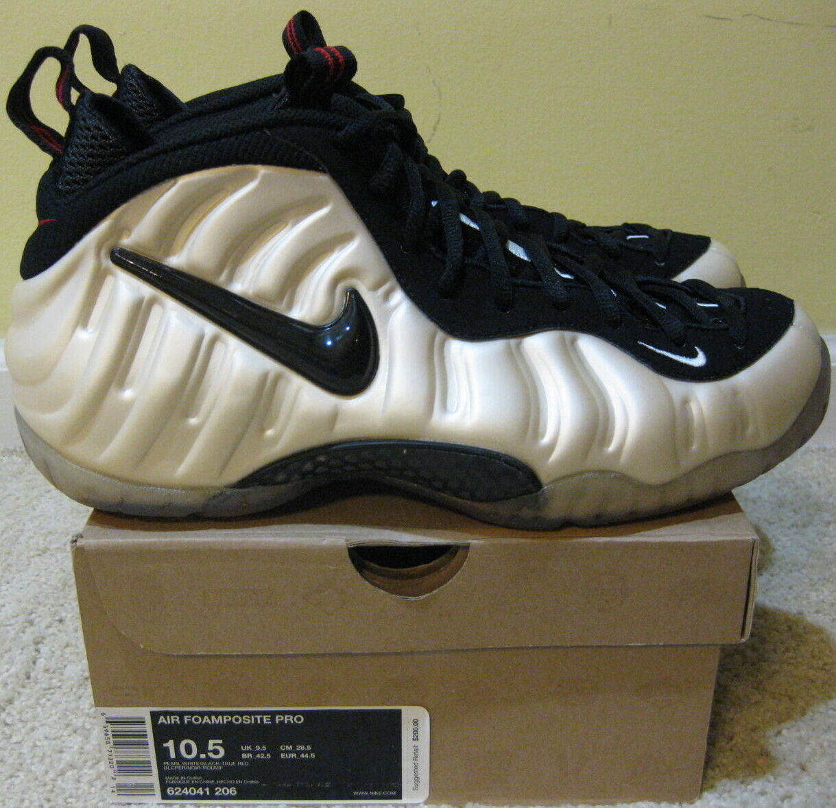 Men s Air Foamposite One HOH Electric Green from Nike ...