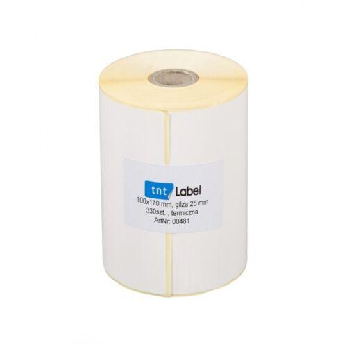 Thermo Etiketten auf Rolle// 100 x 170mm// 330 Stck// Versand UPS DPD DHL// Zebra