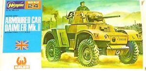 Hasegawa-MB-024-Mini-Box-Coche-de-Camara-Daimler-Mk-ii-British-1-76-Ovp-HC4-A