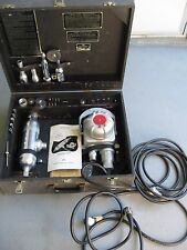 US Army/Navy Bone Surgery Box Set Bishop 180A-0 Oscillation Saw/Cut Tools/Heads