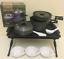 Bivvy Table Saber Tuff 3pc Cook Set Carp Fishing Set Kettle Frying Pan Coldron