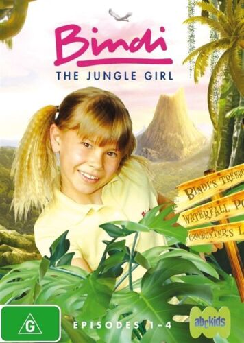1 of 1 - Bindi - The Jungle Girl - NEW+SEALED DVD movie - fast free post