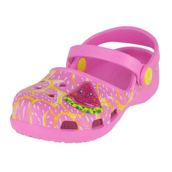 66901bb59830a Crocs Karin Watermelon K Mini-heel Clog Party Pink 8 M US Toddler | eBay