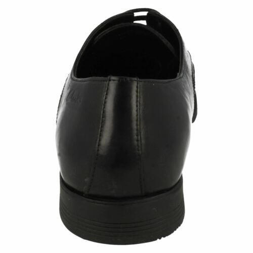 Black Mens kett up Lace Baker Lace Fitting Leather 38b Shoes Clarks G wPtEP