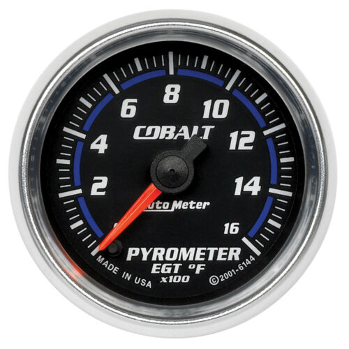 Autometer 6144 Cobalt EGT//Pyrometer Gauge Electrical 2-1//16 in.