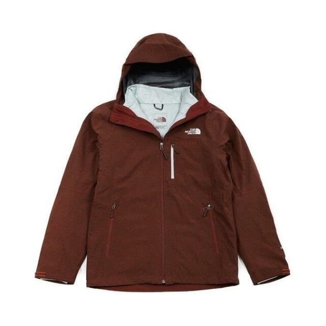 898d52837f Northface Mens Thermoball Triclimate Jacket Clb1 Sequoia Red Heather ...