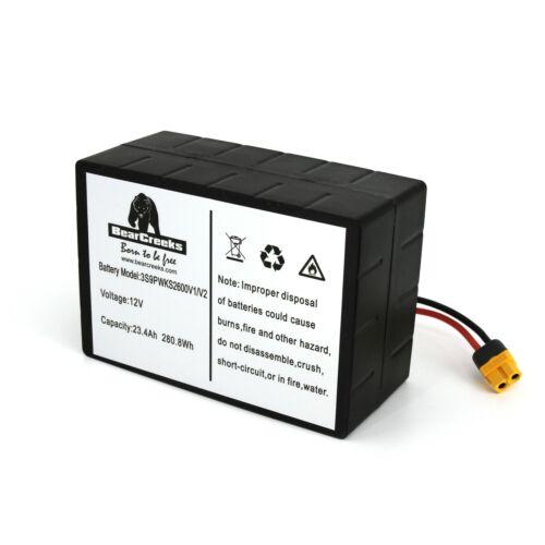 Lithium Battery for Scavenger Navitec Waverunner MK2//3//4 Atom and Soul Bait Boat