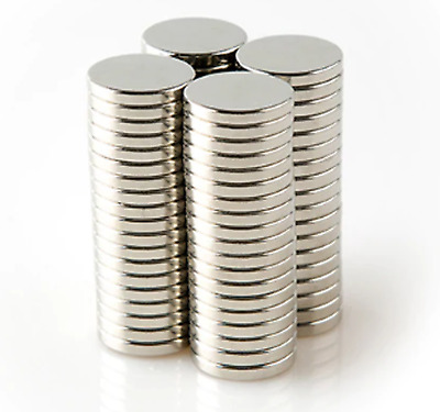 NEODYMIUM MAGNETS ~ 10mm diameter x 1mm thick ~ Small Thin Magnetic Discs Reborn