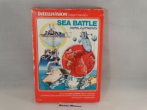 SEA-BATTLE-BATTAGLI-NAVALE-MATTEL-INTELLIVISION-ITA-ITALIANO-BOXED-BOXATO