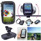 Motorcycle Bike Handlebar Holder Mount Waterproof Bag Case For Cell Phone GPS