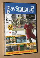 PS 2 Offizielle Magazin Demo DVD Buzz Junior Jungle Party NFS FIFA etc 12/2006