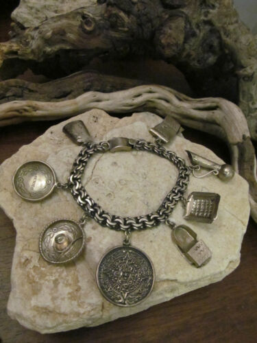 Vintage Mexico Sterling Silver 925 Southwestern Ma