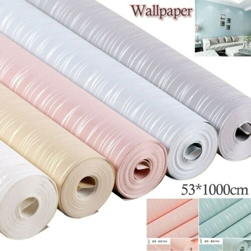Fashion Non-woven Wallpaper 3D Background Wall Striped Sofa Background Wallpaper