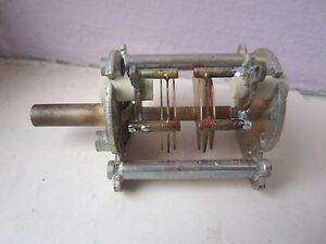 4.5 Pf Twin Gang Air Espacées Tuning Condensateur Nouveau 1 Pc-afficher Le Titre D'origine
