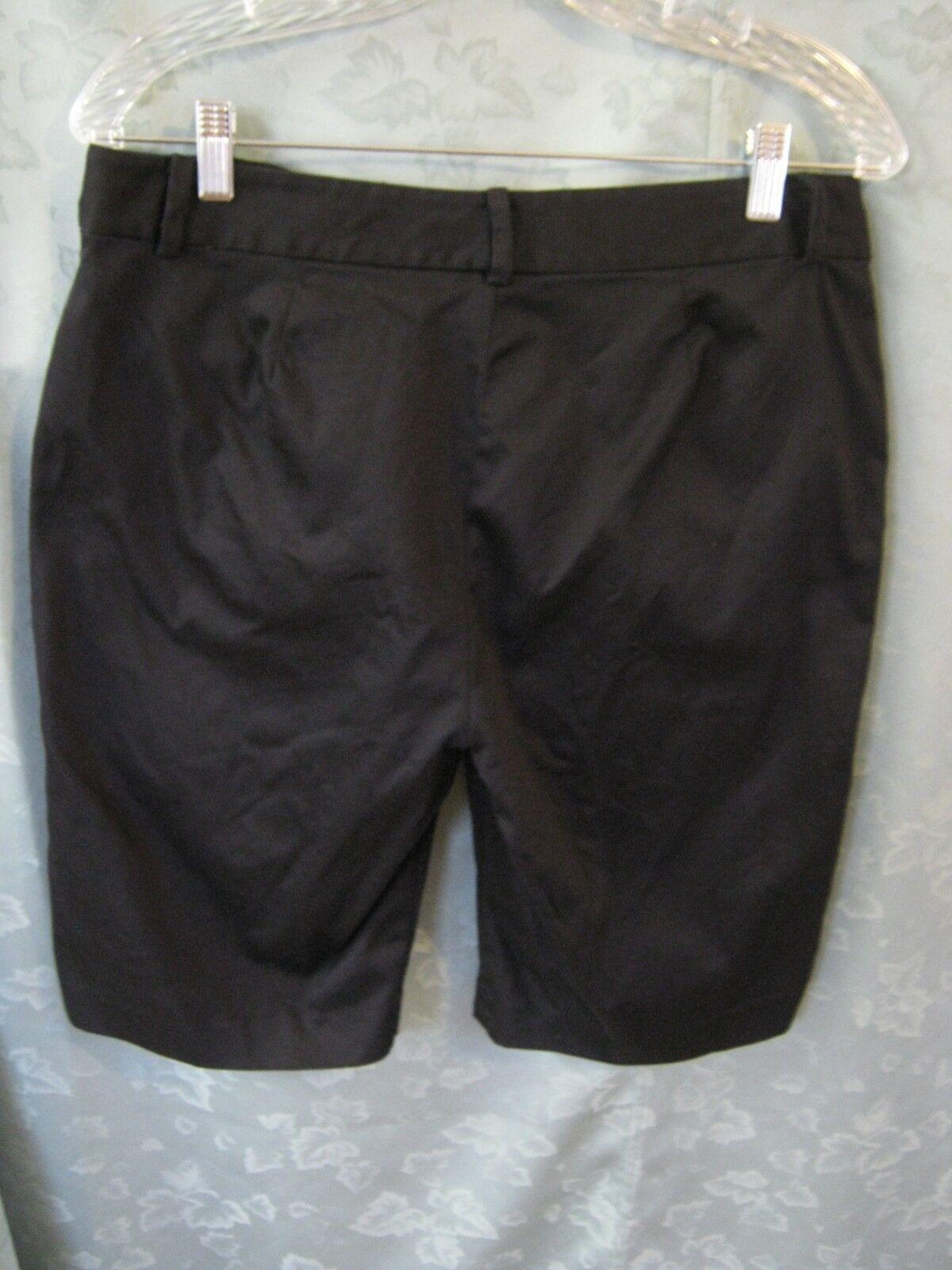 Lauren Ralph Lauren Shorts Size 8 Black Tailored … - image 3