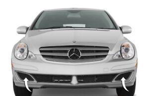 Neuf Véritable Mercedes Benz R W251 Set Avant Pare-Choc Gauche et Droite Caches