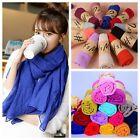 Korean Hot Stoles Long Cotton Scarf Wrap Shawl Women Shawl Scarves Girls Beauty