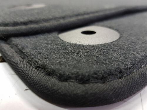 i20 2-Tlg  Fußmatten Hyundai Original Qualität Velours Auto-matten Ziernaht