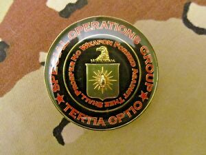 CIA , SAD Special Activities Division SOG Special Operations