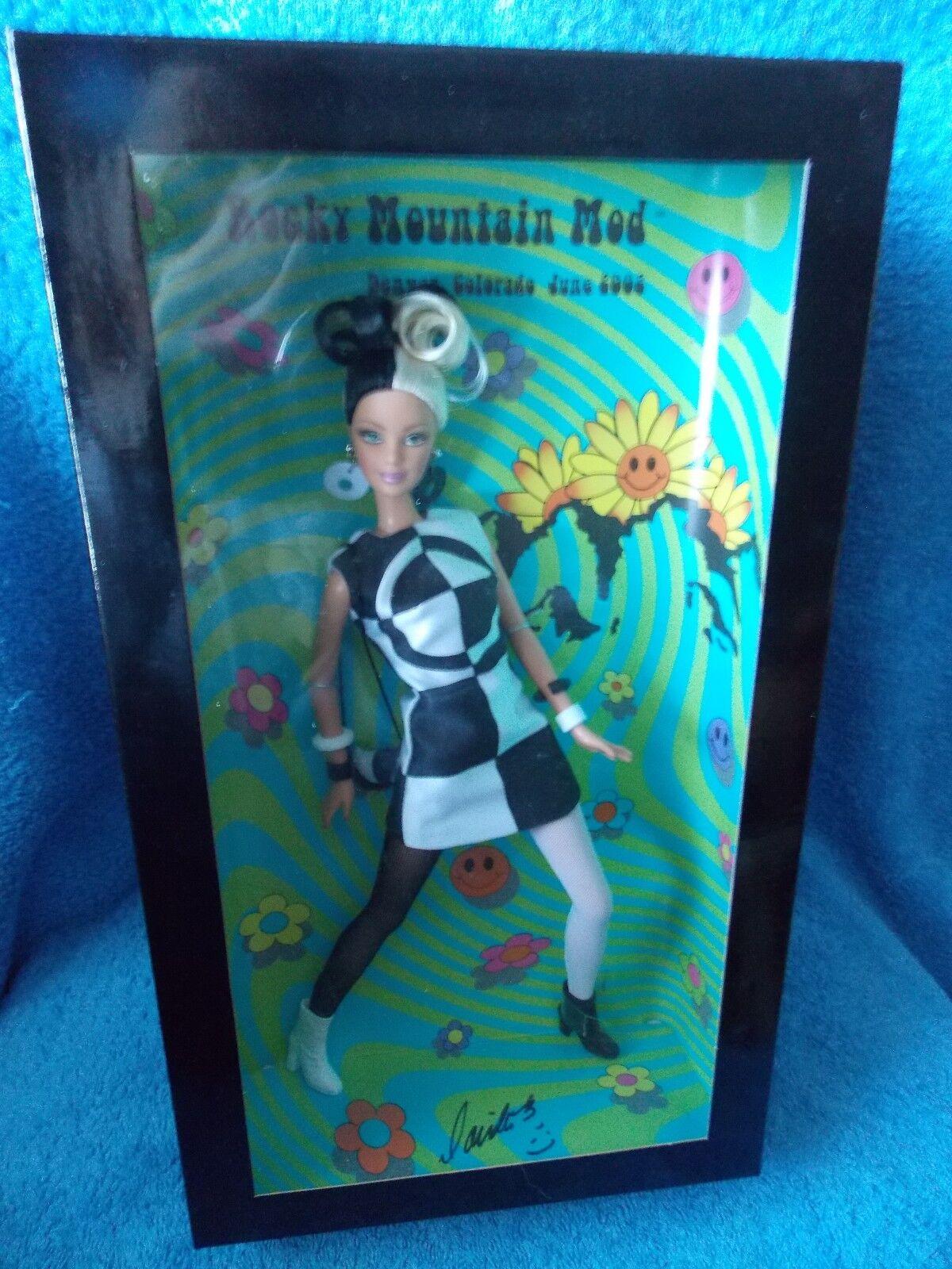 2002 Muñeca Barbie Muñeca convención Mod convenio firmado