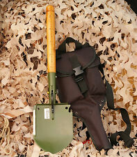 Original Chinese Military Shovel Survival Tool WJQ-308 with Waterproof Cases Bag