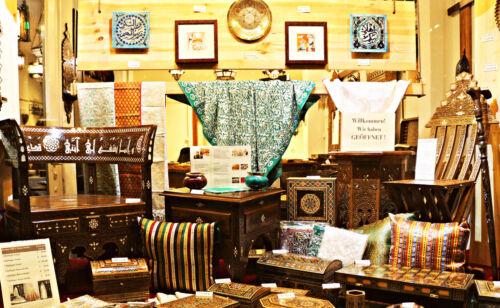 Schmuckkasten Holzschatulle,Box,Kästchen,Mosaik Kunsthandwerk Damaskunst K2-3-49