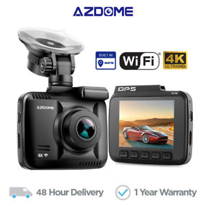 AZDOME-4K-Ultra-HD-2160P-Dash-Cam-Car-Camera-WiFi-DVRs-with-GPS-Night-Vision