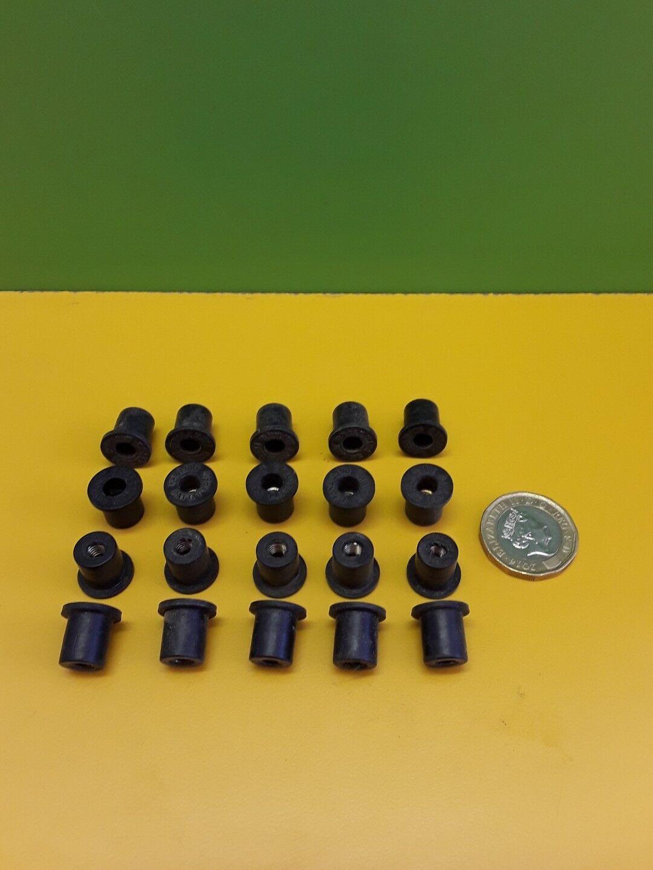 20 New rubber 2BA x 1/2