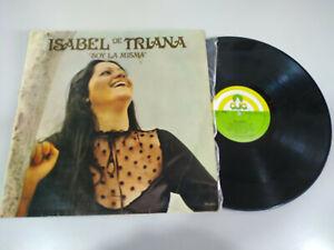 Isabel-de-Triana-Soy-la-Misma-Flamenco-1979-LP-12-034-Vinilo-G-VG