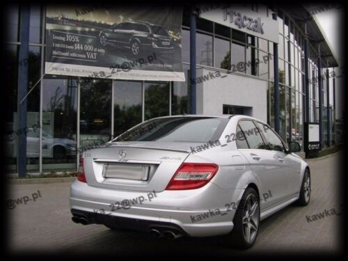 PRIMED /& QUALITY Mercedes C-Class W204 Saloon AMG Rear Trunk Boot Lip Spoiler