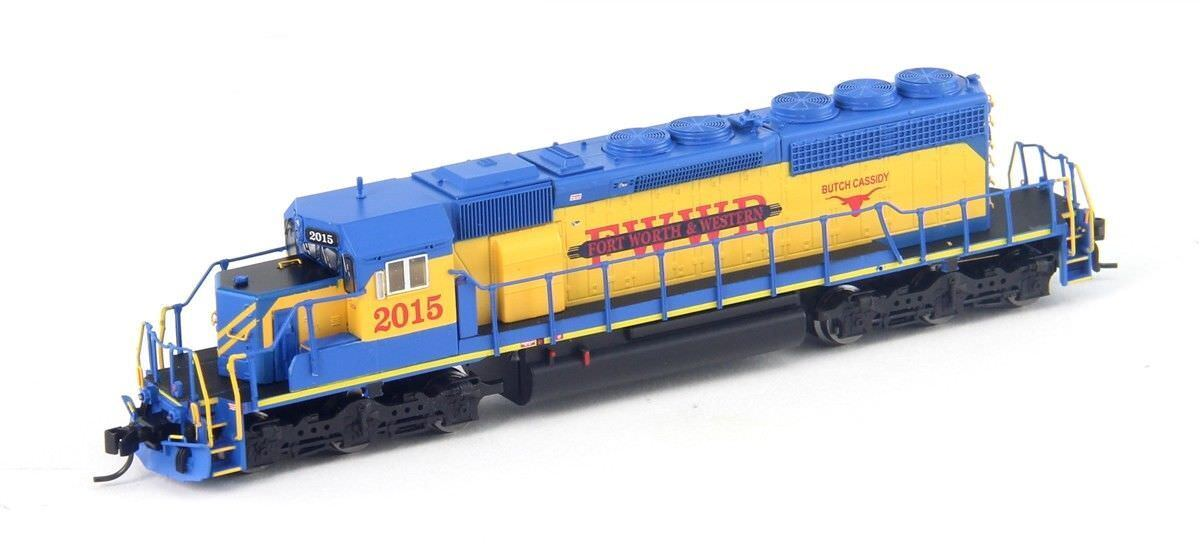 BROADWAY LIMITED 5376 HO SD40-2 Fort Worth & Western w/ Paragon3 Sound/DC/DCC