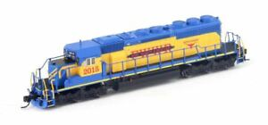 BROADWAY-LIMITED-5376-HO-SD40-2-Fort-Worth-amp-Western-w-Paragon3-Sound-DC-DCC