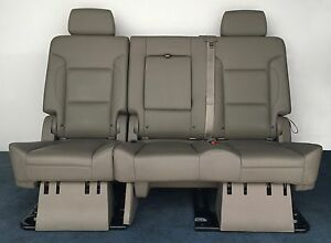 2017 2016 2015 Yukon Denali 2nd Row Bench Seat In Tan