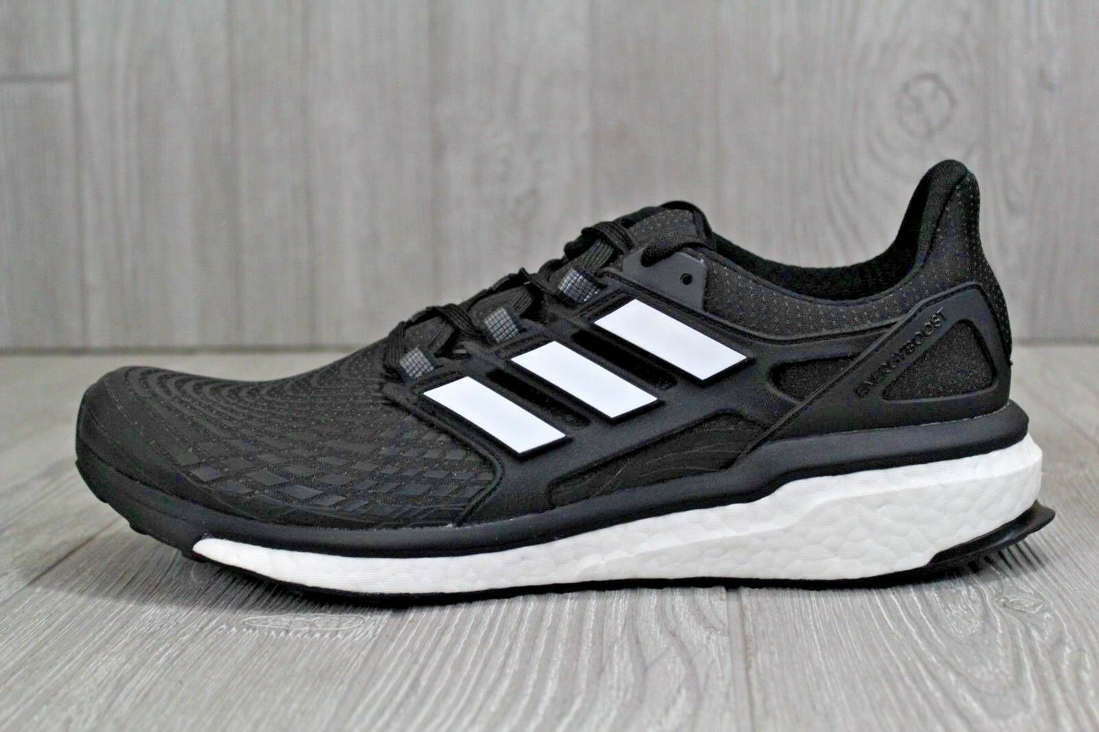 32 Adidas Energy Boost Men's Running shoes New Size 9.5 12.5 Black CG3359