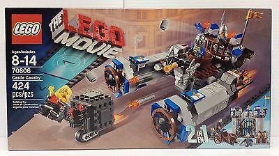 The Lego Movie Set 70806 Castle Cavalry 424 Pieces Misb 673419209847 Ebay