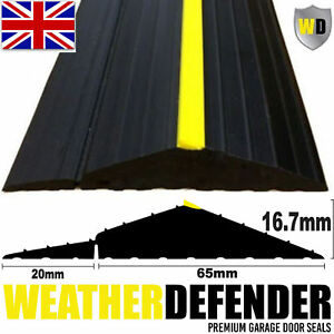 Genuine-WD-WEATHER-DEFENDER-Garage-Door-Floor-Seal-Draught-Excluder-amp-Adhesive