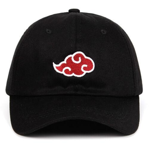 Naruto Dad Hat Uchiha Family Logo Embroidery Baseball Caps Black Snapback Hats
