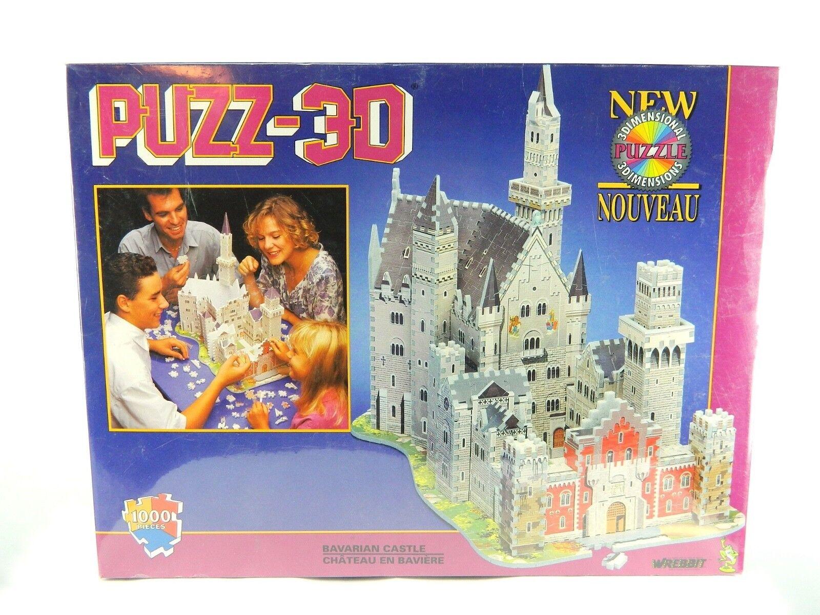 Bayerische schloss 3d - puzzle 1000 stcke wrebbit puzz 3d