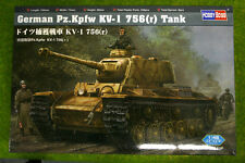 German Pz.Kpfw KV-1 756(r) Tank 1/48 Scale Hobby Boss 84818