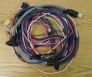1955 Chevy Tail Light Wire Harness 2 Door Sedan New Usa Made Ebay