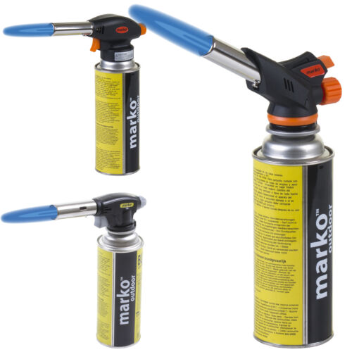 Blow Torch Butane Gas Kit Cooking Catering Creme Brulee Culinary Tart Tool BBQ
