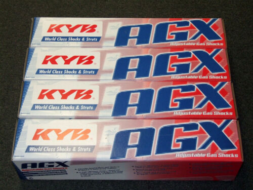 Front+Rear Set KYB AGX Adjustable Shocks 90-97 Accord /& 97-99 CL