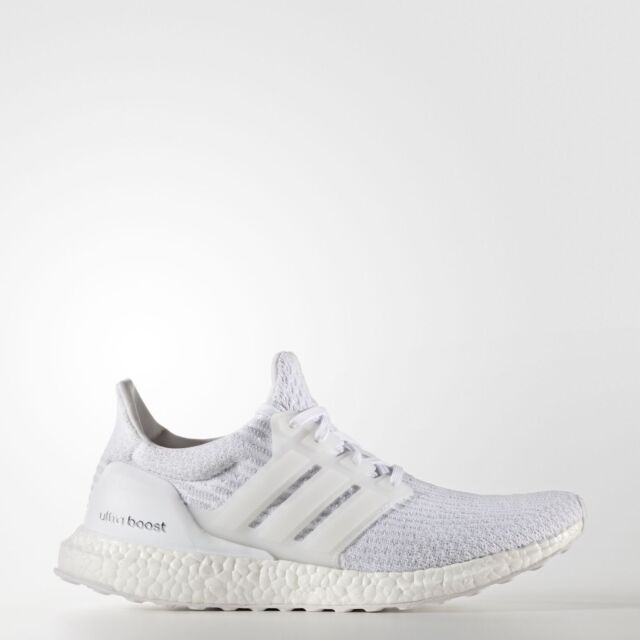 590605af8eb8e adidas Ultra Boost LTD Mens UK 9.5 EU 44 Triple White Running Shoes  Trainers NEW