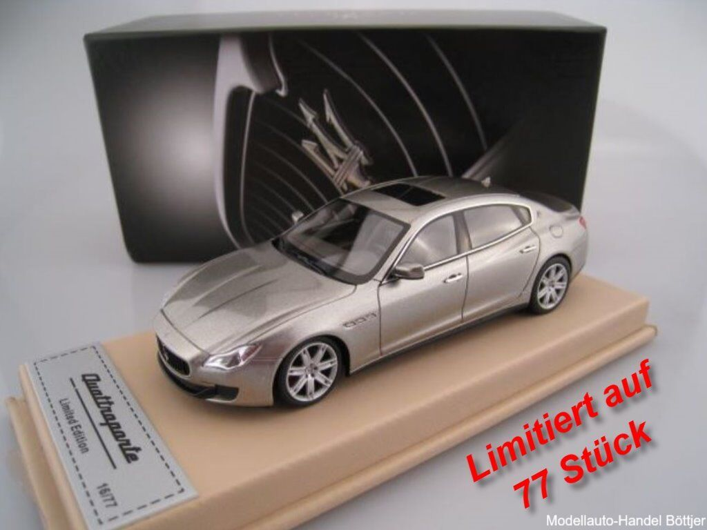 Maserati Quattroporte Zegna Edition 2014 BBR limited to 77 pieces 1 43 NEW