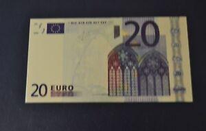 20-Euro-Banknote-Geldschein-mit-Zertifikat-Goldschein-neu-Farbapplikation