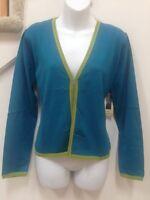 Marsh Landing Cardigan Size M, 70% Rayon, 30% Nylon